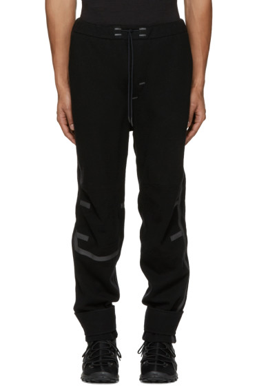 Y-3 SPORT - Black Wool Lounge Pants