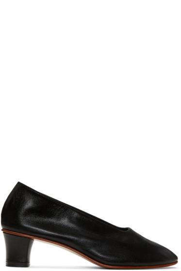 Martiniano - Black High Glove Heels