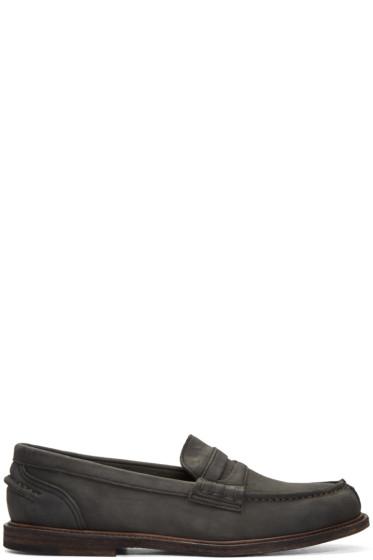 Hender Scheme - Black Slouchy Loafers