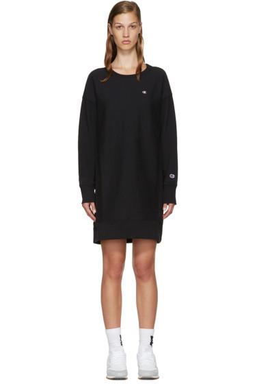 Champion Reverse Weave - Black Logo Pullover Dress