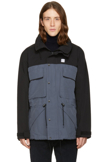 Noah - Black Two-Tone Parka