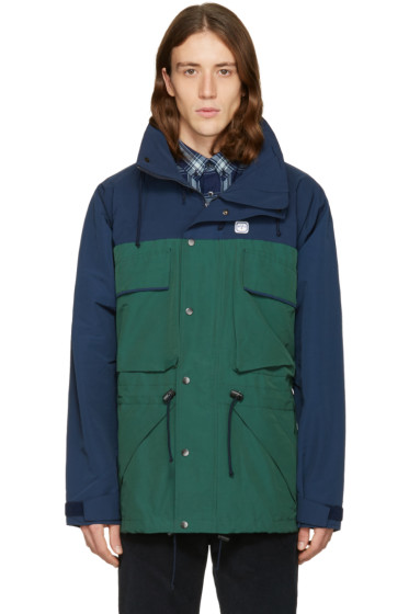 Noah - Navy Two-Tone Parka