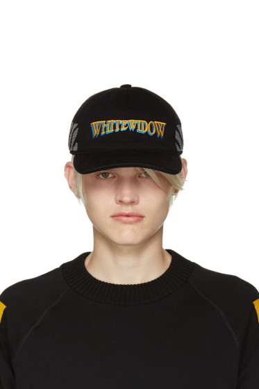 Moncler O - Black Whitewidow Baseball Cap