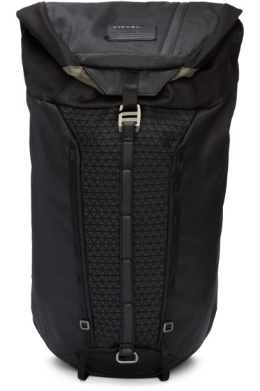 Diesel - Black M-Rising Backpack
