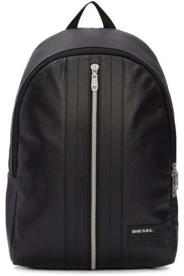 Diesel - Black L-Back Round Backpack