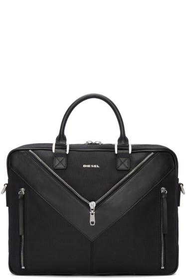 Diesel - Black Mr. V Briefcase