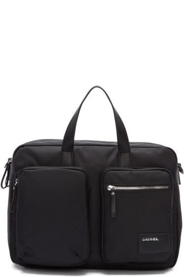 Diesel - Black Crash Briefcase