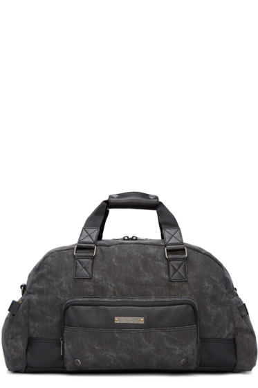Diesel - Black Gear Duffle Bag