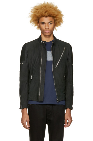 Diesel - Black Nubuck L-Mackson Jacket