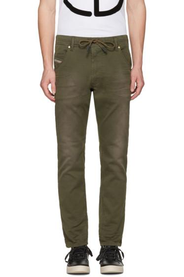 Diesel - Green Krookley-Ne Jogg Jeans
