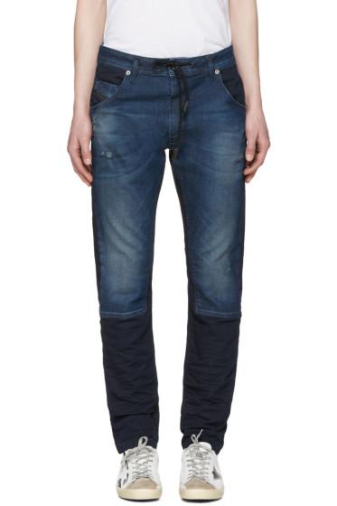 Diesel - Blue Krookley-Ne Jogg Jeans