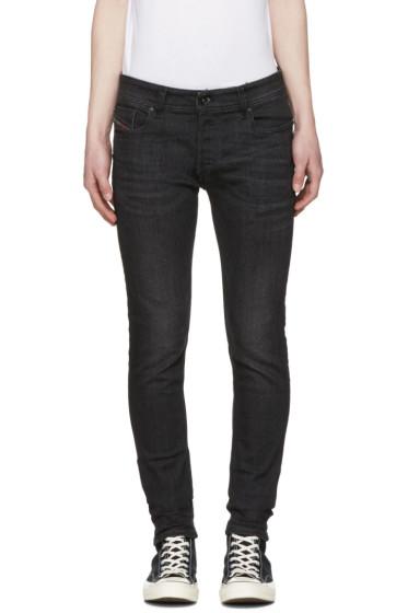 Diesel - Black Sleenker Jeans