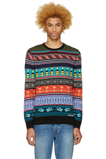 Diesel - Multicolor K-Cruz Sweater