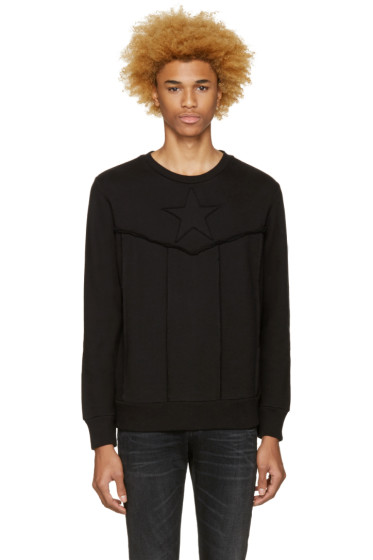 Diesel - Black S-Capitan Sweatshirt