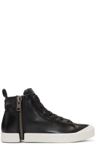 Diesel - Black S-Nentish High-Top Sneakers