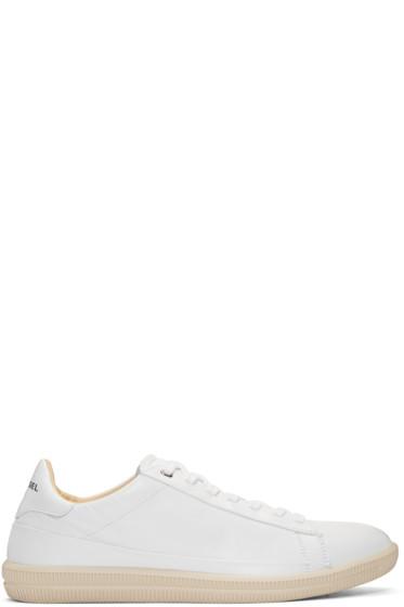 Diesel - White S-Napik Sneakers
