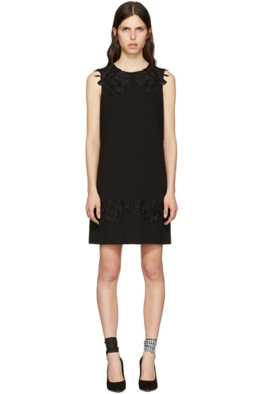 Dolce & Gabbana - Black Macrame Lace Dress