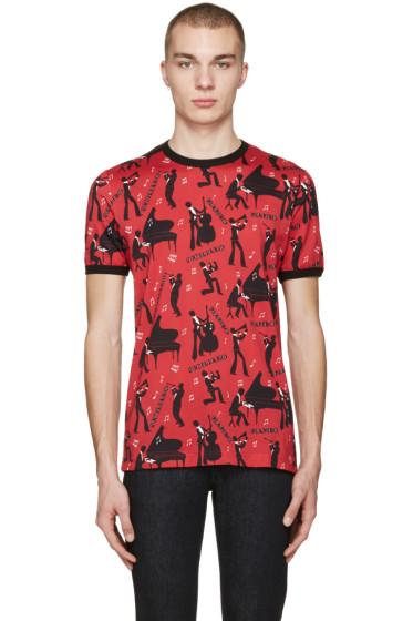 Dolce & Gabbana - Red 'Mambo' T-Shirt