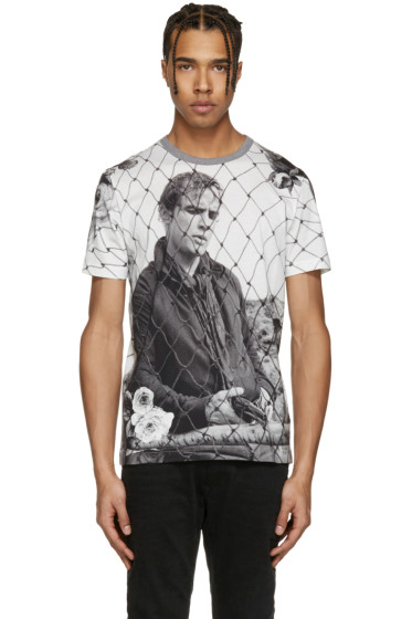 Dolce & Gabbana - White Marlon Brando Fence T-Shirt