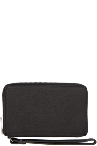 Rag & Bone - Black Phone Wristlet Wallet