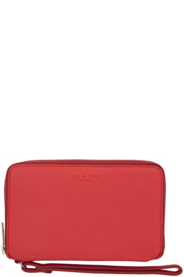 Rag & Bone - Red Phone Wristlet Wallet