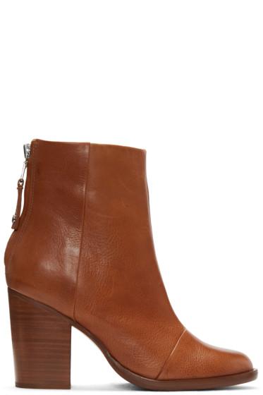 Rag & Bone - Tan Ashby Boots