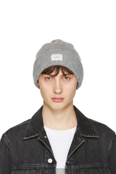 Rag & Bone - Grey Standard Issue Beanie