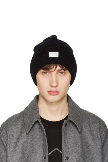 Rag & Bone - Black Standard Issue Beanie