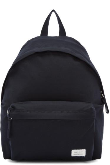 Rag & Bone - Navy Canvas Standard Backpack