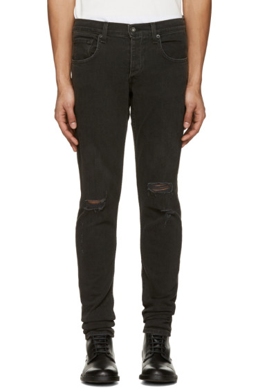 Rag & Bone - Black Standard Issue Fit 1 Jeans