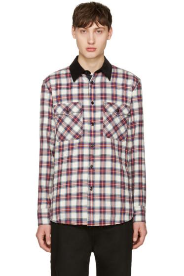 Rag & Bone - Blue & Red Plaid Jack Shirt
