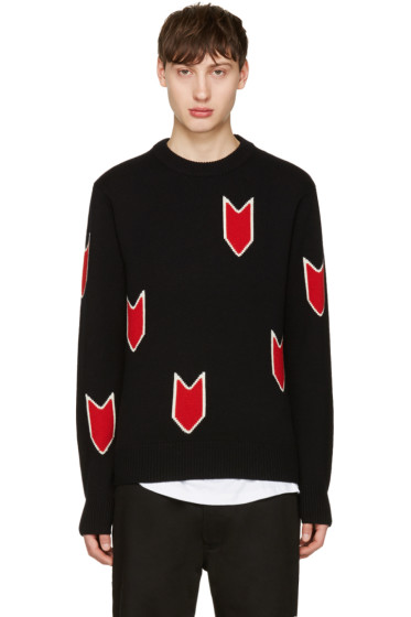 Rag & Bone - Black Jackson Sweater