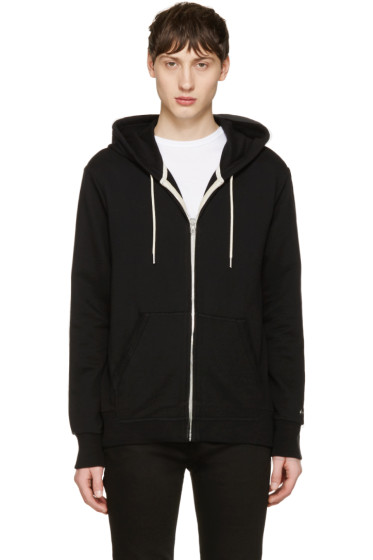 Rag & Bone - Black Standard Issue Hoodie