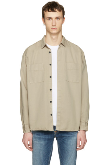 Nudie Jeans - Taupe Calle Shirt