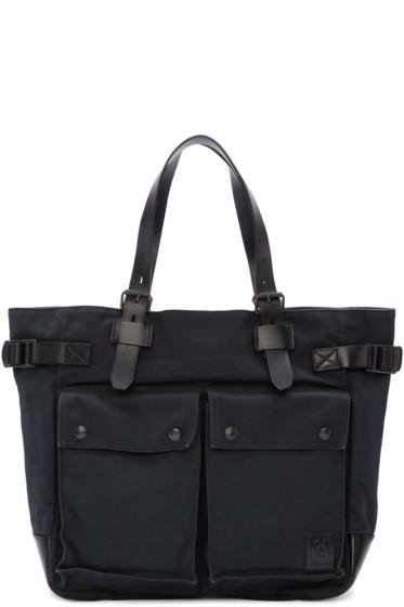 Belstaff - Black Canvas Tote Bag