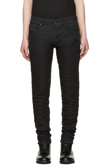 Diesel Black Gold - Black Knitted Type-2628 Jeans