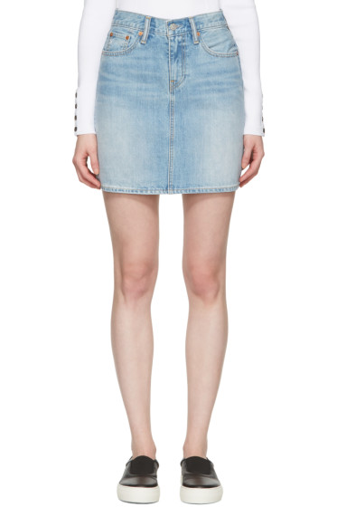 Levi's - Blue Denim Everyday Skirt