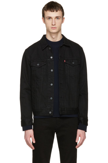 Levi's - Black Denim Trucker Jacket