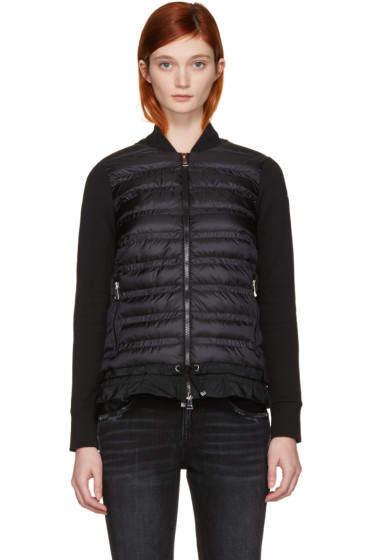 Moncler - Black Down Panel Jacket