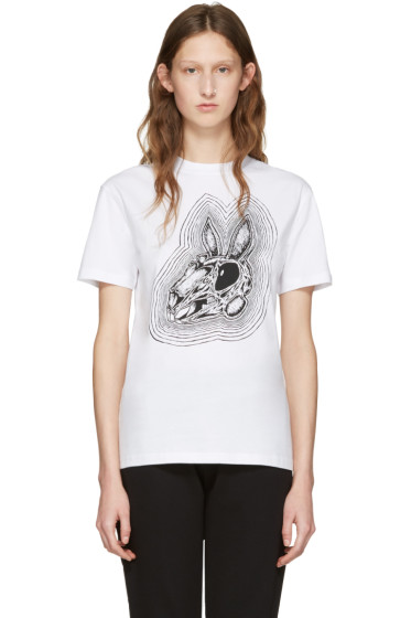 McQ Alexander Mcqueen - White Be Here Now T-Shirt