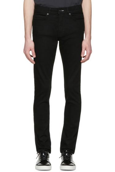 McQ Alexander Mcqueen - Black Strummer 01 Jeans