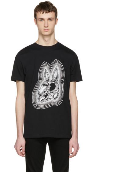 McQ Alexander Mcqueen - Black Rabbit Skull T-Shirt