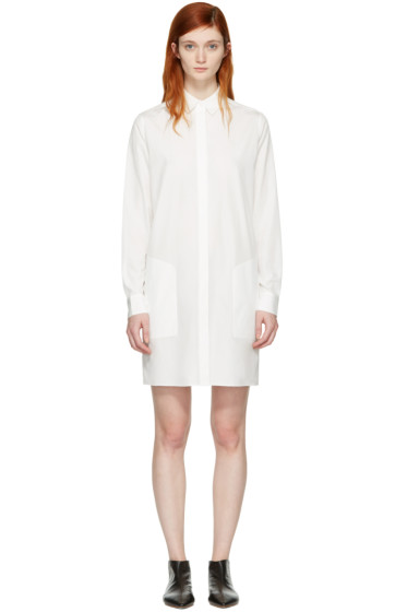 Acne Studios - White Sike Shirt Dress