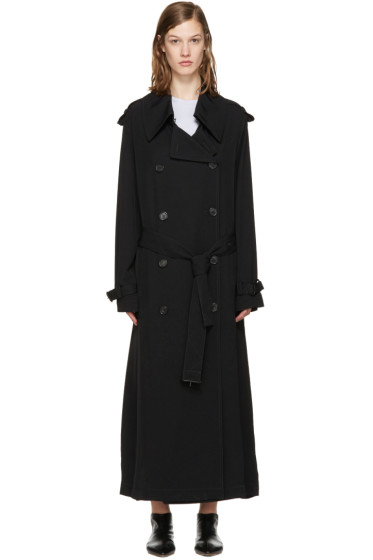 Acne Studios - Black Lucie Trench Coat