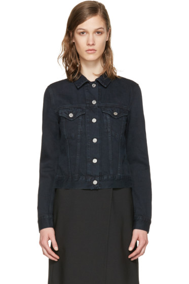 Acne Studios - Black Denim Top Jacket