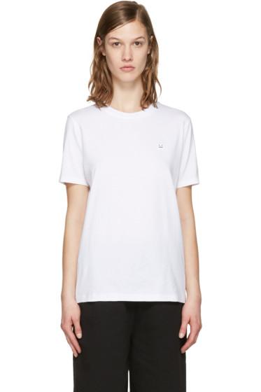 Acne Studios - White Taline Face T-Shirt