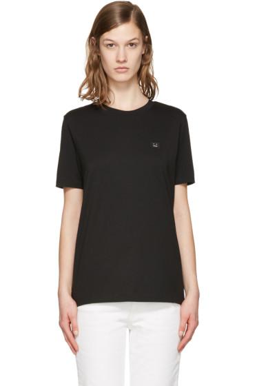 Acne Studios - Black Taline Face T-Shirt