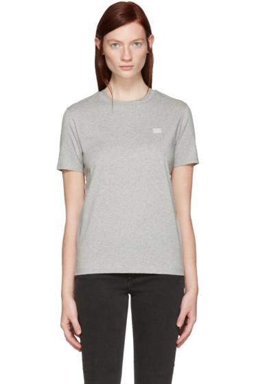Acne Studios - Grey Taline Face T-Shirt