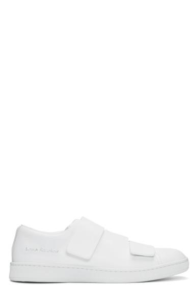 Acne Studios - White Triple Sneakers