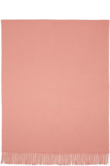 Acne Studios - Pink Canada Scarf